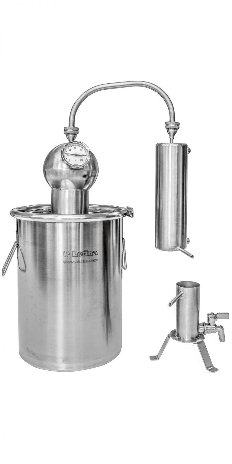 [DSB] Essential Oil Distiller - stainless steel still for herbal extracts by Letina.