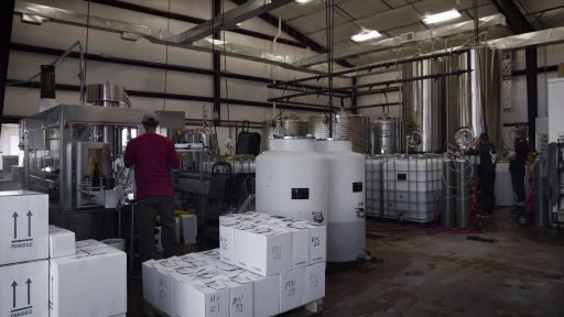 The winery at Superstition Meadery in Arizona, USA.