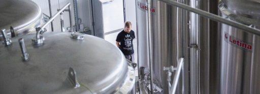 Varionica brewery in Croatia.