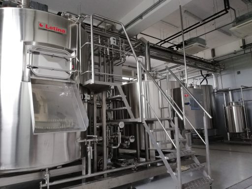 Letina mini brewery in the Varionica brewery in Croatia.
